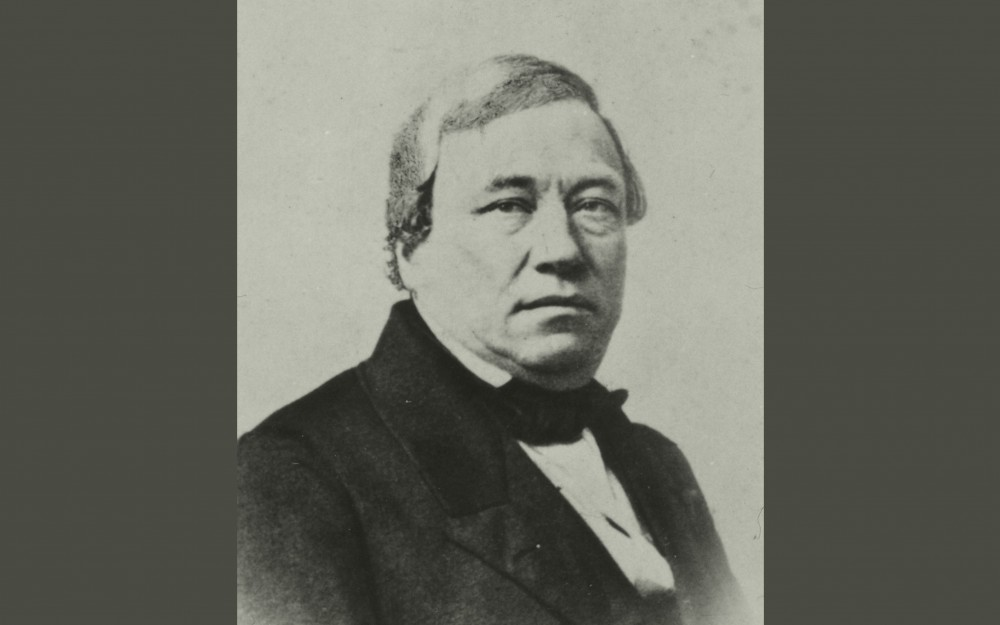 Early photograph of Alexander Clavel-image